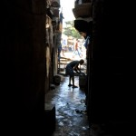 dharavi alleyway on Inside Mumbai Tour