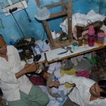 dharavi tour into a home/workshop